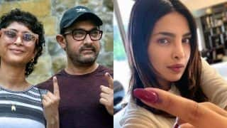 Aamir Khan, Priyanka Chopra Among First Bollywood Celebs to Cast Vote