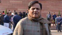 अहमद पटेल के घर तीसरी बार पूछताछ के लिए पहुंची ईडी, Sandesara scam मामले की चल रही जांच