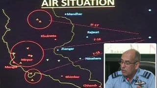 Have Irrefutable Proof That Our MiG-21 Shot Down Pak's F-16 on Feb 27: IAF