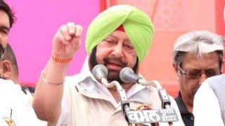 Amarinder Singh Accuses Badals of Abusing Akal Takht For Political Gains