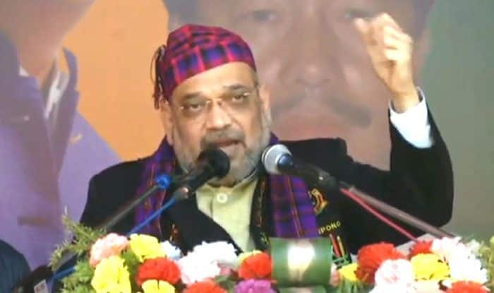 Amit Shah in Changlang