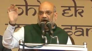 We Will Never Allow Two Prime Ministers in India: Amit Shah