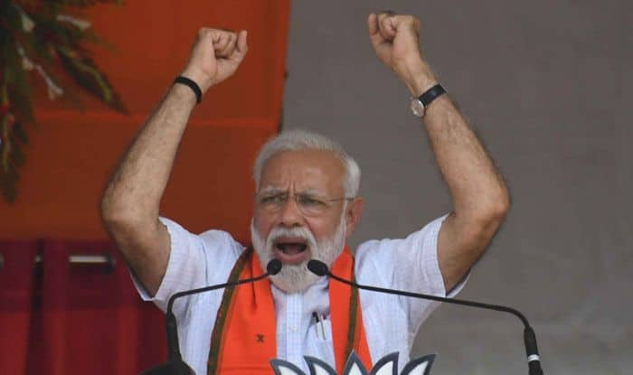 PM Modi Makes People at Rally in Sidhi Repeat They Too Are 'Chowkidars'