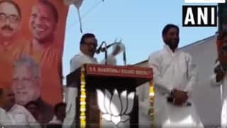 Uttar Pradesh: BJP Leader Raps 'Kamal Kamal' During Election Rally in Meerut; Video Goes Viral