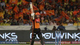 धोनी के बिना मैदान में उतरी CSK, हैदराबाद ने 6 विकेट से हराया