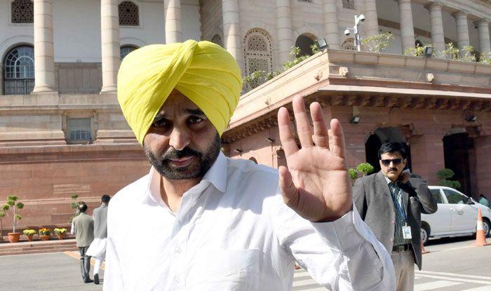 Aam Aadmi Party leader Bhagwant Mann
