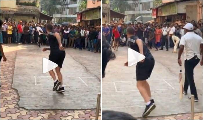 Brett Lee vs Brian Lara, Two Legends Take on Each Other During Gully Cricket Clash | WATCH VIDEO