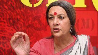 Brinda Karat Says Giriraj Singh Suffering From Foot And Mouth Disease