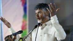 '#TDPWillBeBack,' Chandrababu Naidu Puts up a Brave Front After 4 TDP Rajya Sabha MPs Join BJP
