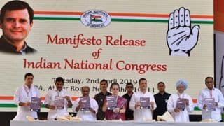 Congress Manifesto Promises it Won't Allow Any Changes in Article 370