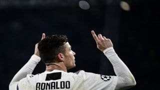 Cristiano Ronaldo Nets Record 125th Champions League Goal During Juventus' Thrilling Draw Versus Ajax   WATCH VIDEO