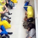 IPL 2019: MS Dhoni, Sakshi Sleeping on Floor After CSK beat KKR is a Sight to Behold! SEE PIC