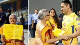 'No Age For Superfandom': MS Dhoni's Heartfelt Gesture Towards Aged Lady Fan is Simply Adorable