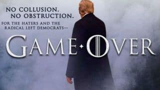 HBO Hits Back at US President Donald Trump After His Game of Thrones Inspired Tweet Goes Viral