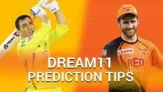CSK vs SRH Dream11 Prediction: Have You Picked MS Dhoni and David Warner?