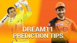 CSK vs SRH Dream11 Prediction: Have You Picked MS Dhoni, David Warner For Today's IPL Match Between Chennai vs Hyderabad?