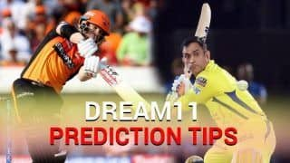 Dream XI Team SRH vs CSK IPL 2019 - Have You Selected Rashid Khan, Ravindra Jadeja? Todays IPL Match Hyderabad vs Chennai at Rajiv Gandhi International Stadium