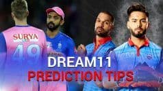 Rajasthan vs Delhi Dream11 Team Prediction And Tips