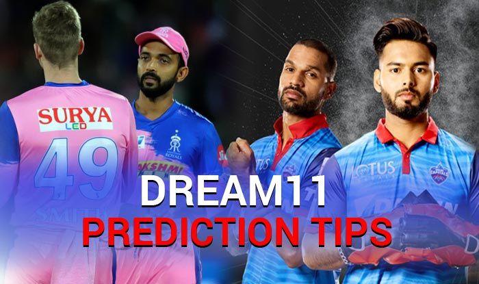 Rr Vs Dc Dream11 Team Check Rr Dream11 Team Player List Dc Dream11 Team Player List Dream11 Guru Tips Online Cricket Tips Ipl 2019