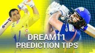 Dream11 Team CSK vs MI IPL 2019 - Have You Picked MS Dhoni? For Todays IPL Match Chennai vs Mumbai at Chepauk Stadium Chennai