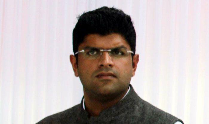 Jannayak Janata Party leader Dushyant Chautala