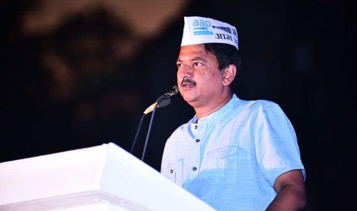 Aam Aadmi Party state convenor Elvis Gomes