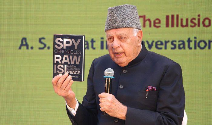National Conference leader Farooq Abdullah