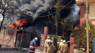 Fire at Chemical Factory in Delhi's Naraina, 30 Fire Tenders on Spot