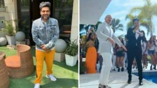 Punjabi Singer Guru Randhawa Grooves to His Latest Hit Track 'Slowly Slowly' as he Celebrates The Success of The Peppy Song