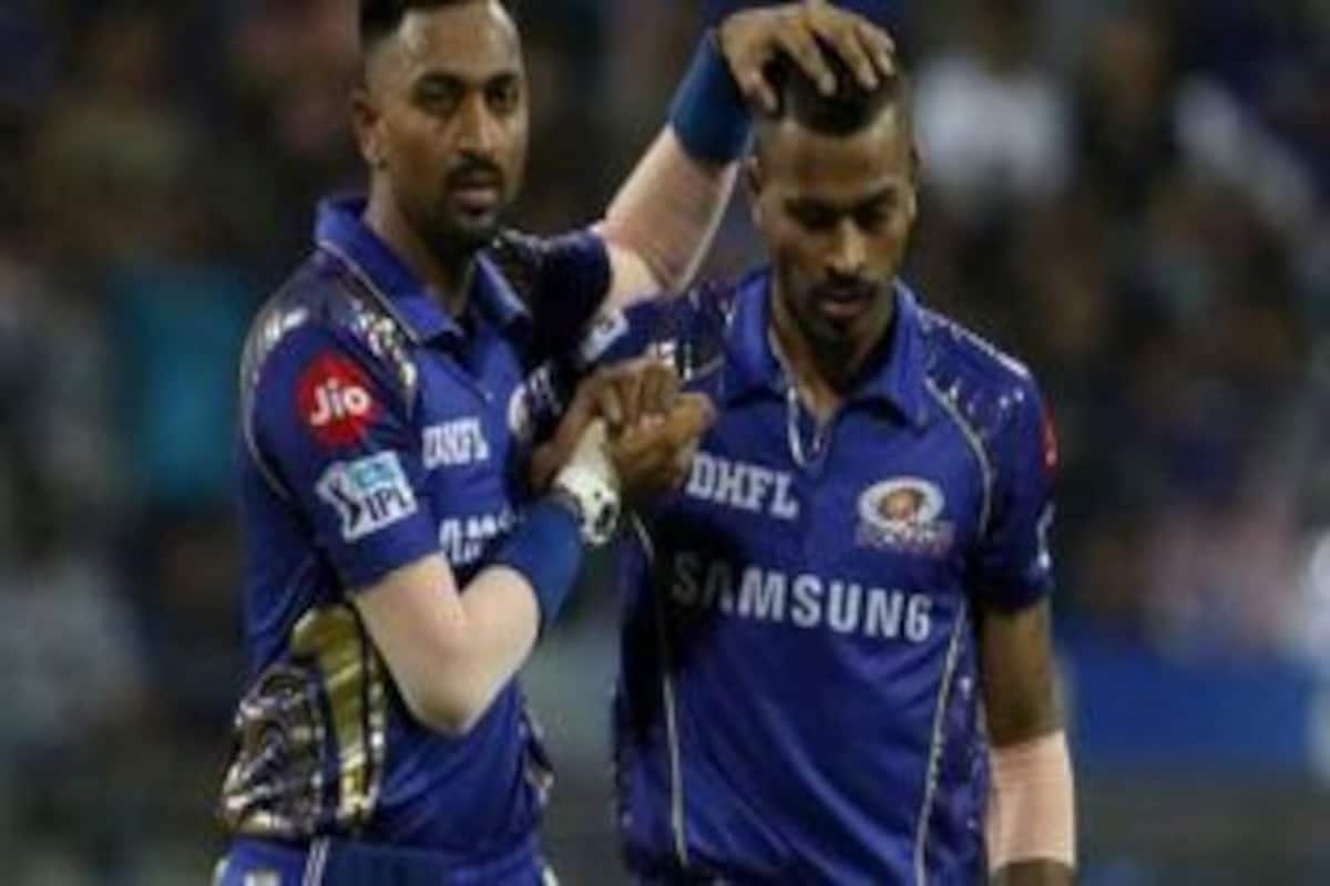 Hardik Pandya Gets Special Message From Brother Krunal After His Heroics  During Series Clinching T20I at SCG - Cricket Country