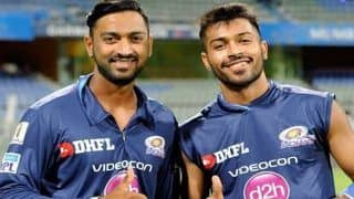 'Hardik's Work Ethics Are Second to None,' Says Brother Krunal Pandya After Mumbai Defeat Delhi