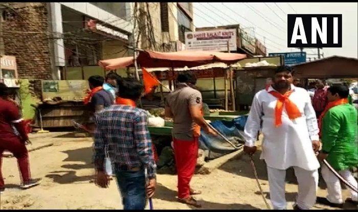 Hindu sena workers