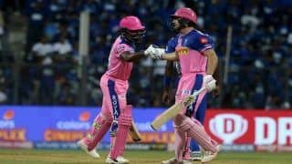 IPL 2019 Match 27 Report: Jos Buttler's 89, Shreyas Gopal Heroics Power Rajasthan Royals to 4-Wicket Win Over Mumbai Indians at Wankhede Stadium