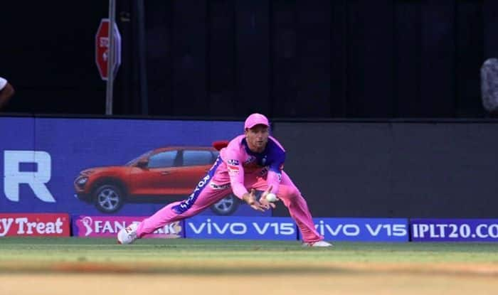 IPL 2019: Jos Buttler Grabs a Stunner to Dismiss Quinton de Kock off Jofra Archer's Bowling | WATCH VIDEO