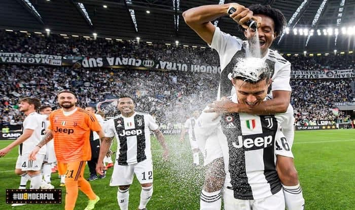 Juventus Wins Eighth Straight Serie A Title as Cristiano