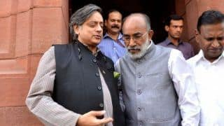 Union Minister KJ Alphons, Shashi Tharoor File Nominations in Kerala