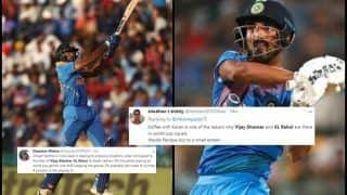 Vijay Shankar, KL Rahul Picked as BCCI Announce Virat Kohli-Led Team India World Cup 2019 Squad, Twitter is Divided | SEE POSTS