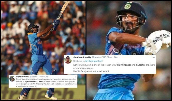 KL Rahul, Vijay Shankar chosen for ICC World Cup squad