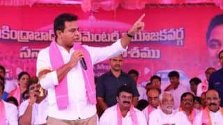 Naidu Raising Issue With EVMs as he Fears Losing Elections: KT Rama Rao