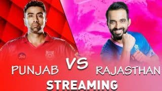 IPL 2019: Kings XI Punjab vs Rajasthan Royals Live Cricket Streaming, TV Broadcast, Timing, Squads, Probable 11, When And Where to Watch Punjab vs Rajasthan