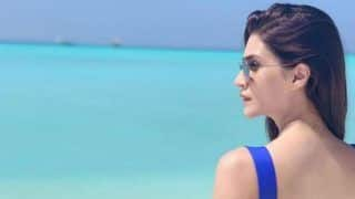 Kriti Sonan Shares Throwback Picture in Sexy Blue Bikini From Her Maldives Vacay And It is Hotness Personified