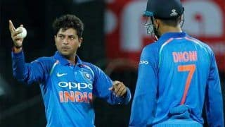 MS Dhoni Also Goes Wrong With His Tips, Says Kuldeep Yadav in Jest During CEAT Cricket Awards