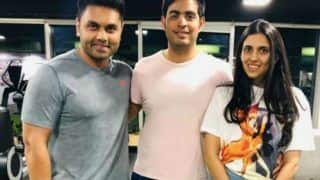 Newlyweds Akash Ambani And Shloka Mehta Turn Gym Buddies, See Unseen Picture Here