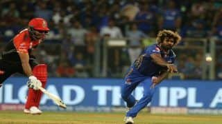 IPL 2019 Match 31 Report: Lasith Malinga Four-For, Hardik Pandya's Unbeaten 31 Guide Mumbai Indians to 5-Wicket Win vs Royal Challengers Bangalore at Wankhede Stadium