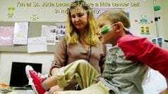 I'm at St. Jude For Treatment of Little Cancer Ball in my Tummy, Says 4 Years Old Lucas