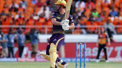 SRHvsKKR: कोलकाता ने दिया 160 रन लक्ष्य दिया, क्रिस लिन ने जड़ा अर्धशतक