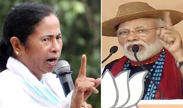 Mamata Banerjee And PM Narendra Modi