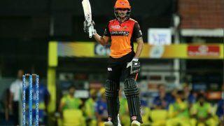 CSKvsSRH : हैदराबाद ने दिया 176 रन का लक्ष्य, मनीष पांडे की आतिशी पारी