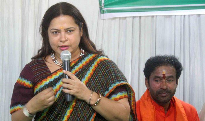BJP's national spokesperson Meenakshi Lekhi
