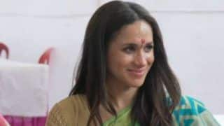 Duchess of Sussex Meghan Markle's Saree Clad Throwback Picture From Her India Trip Goes Viral